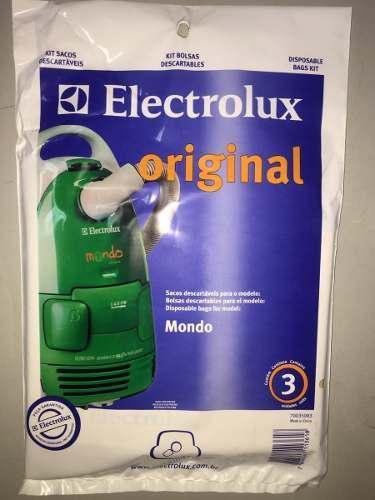 Bolsas aspiradora electrolux mondo