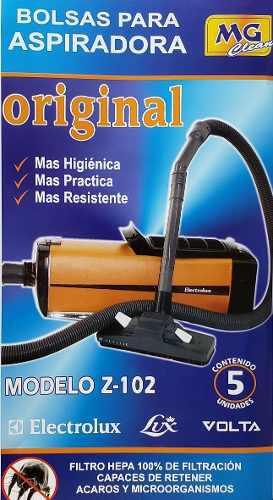 Bolsas z102 aspiradora electrolux