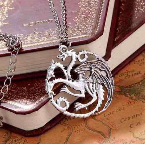 Collar juego de tronos game of thrones daenerys + obsequio