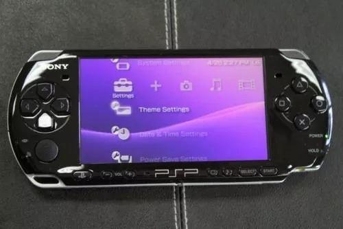 Play station portable psp 3001 8gb juegos inc estuche