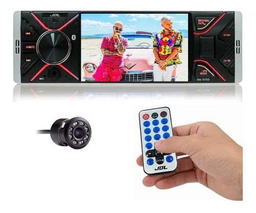 Radio para carro jdl 4 bluetooth mp3 mp4 usb + cam reversa