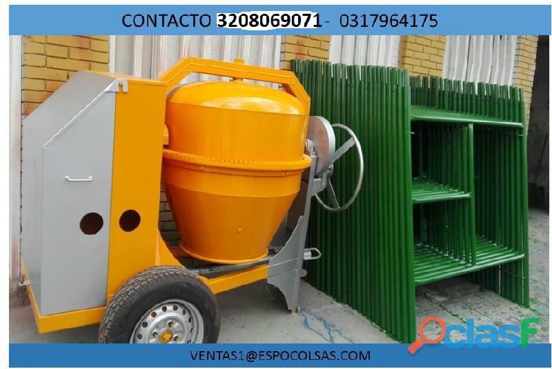 Mezcladoras para concreto diesel 10hp