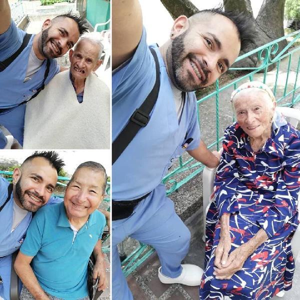Auxiliar de enfermería para cuidado de personas de tercera