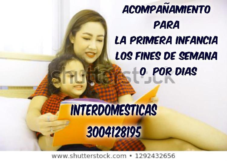 EXCELENTE PERSONAL PARA ATENCION ALA PRIMERA INFANCIA Y