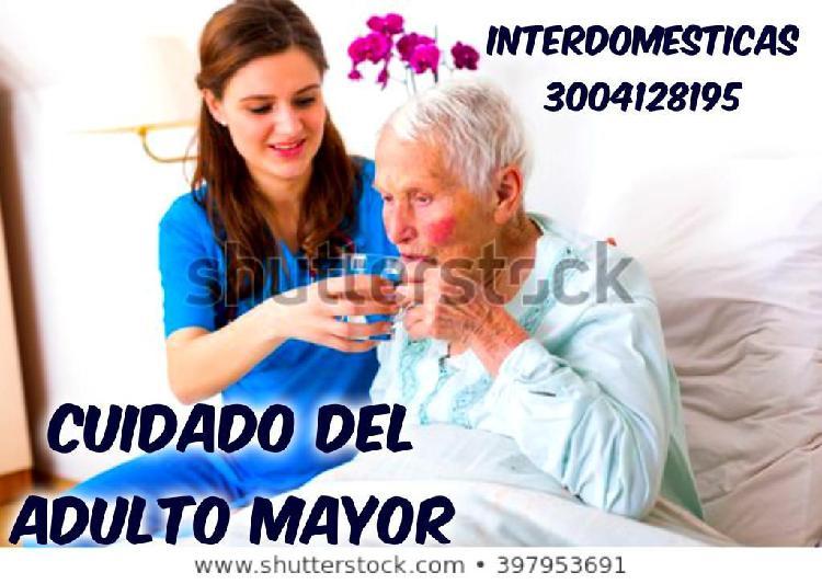 Excelente personal para cuidado al adulto mayor y primera