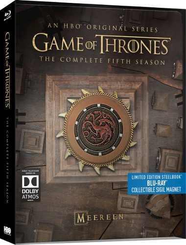 Game of thrones blu-ray quinta temporada 5 steelbook bluray