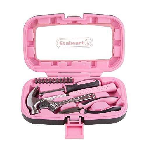 destornillador Phillips y destornillador de punta est/ándar kit de herramientas de mano DIY E/·Durable 5 pcs Kit de herramientas de reparaci/ón en el hogar con alicate combinado,cuchillo de utilidad