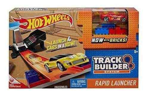 Hot wheels track builder rapid launcher playset!