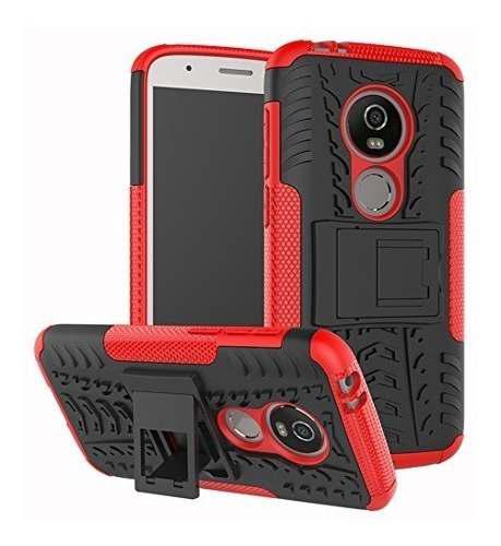 Moto e5 play case, moto e5 cruise case, yiakeng dual layer