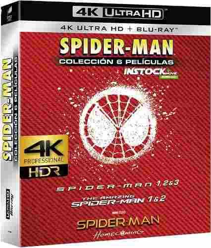 Pelicula spiderman pack 4k entrega inmediata