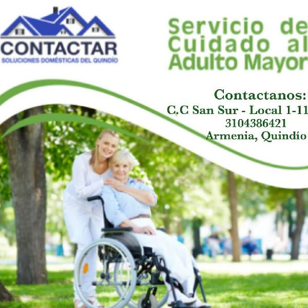 Servicio de cuidado de adulto mayor