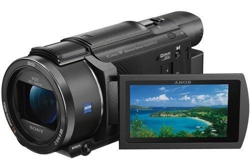 Sony fdr-ax53 4k vídeocámara incluye memoria de 64gb de