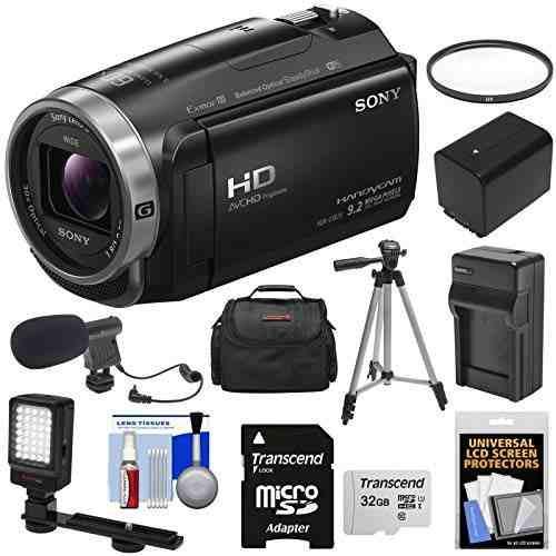 Sony handycam hdr-cx675 videocámara con cámara de video
