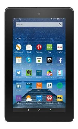 Tablet fire amazon ® kindle 7 ips 8gb wifi quad-core 1.3ghz