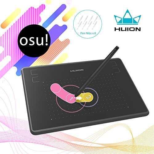Tableta gráfica huion inspiroy h430p osu 121.9 x 76.2 mm