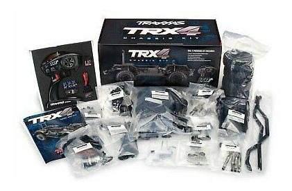 Traxxas 1/10 scale trx-4 kit de chasis con rastreador de ca
