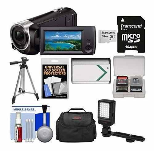 Videocámara hd handycam hdr-cx405 1080p con cámara de