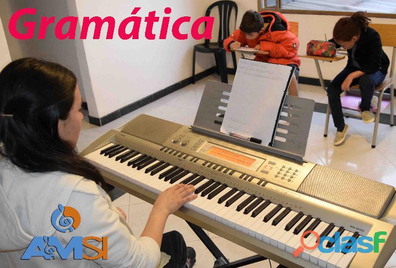 Aprender música  clases desde los cinco años