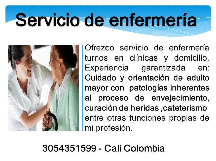 Enfermeria en clinicas y domicilio