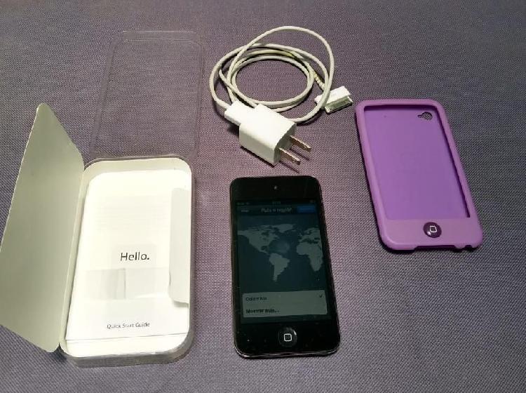 Ipod touch apple original como nuevo sin audifonos
