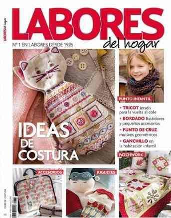 Labores del hogar - 693. revista de manualidades del hogar