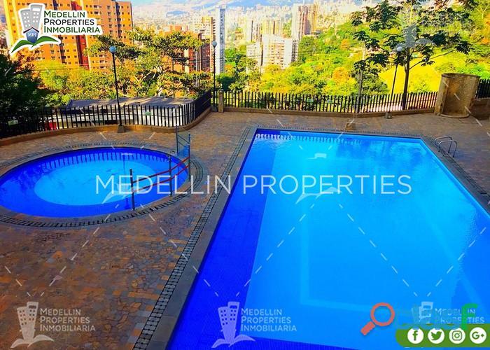 Apartamentos y casas amobladas por dias en medellin cód: 4888
