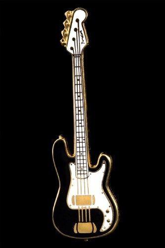 Bajo electrico guitarra pin negro