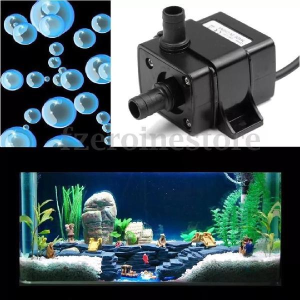 Bomba de agua idroponia 12v alimentos acuario sumergible