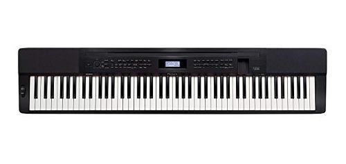 Casio px350 bk 88-llaves privia piano digital sensible tacto