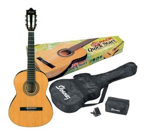 Combo de guitarra acustica ga3 am ibanez color amber
