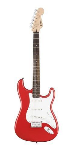 Guitarra eléctrica squier by fender bullet strat fiesta red