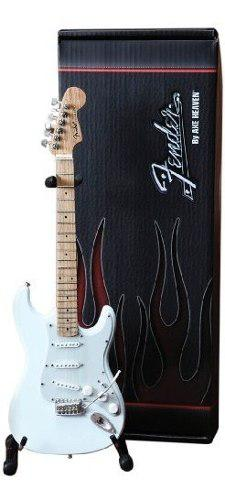 Guitarra en miniatura axe heaven fs-008 fender strat olympic