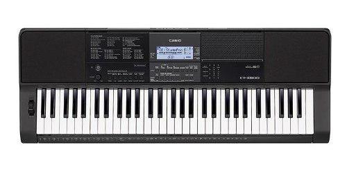 Organeta casio ct-x800, 5 octavas con usb, con adaptador