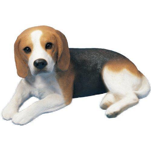 Sandicast escultura tamaño beagle original, mintiendo