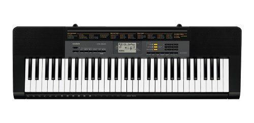 Teclado organeta casio ctk 2500 base + adaptador expomusic