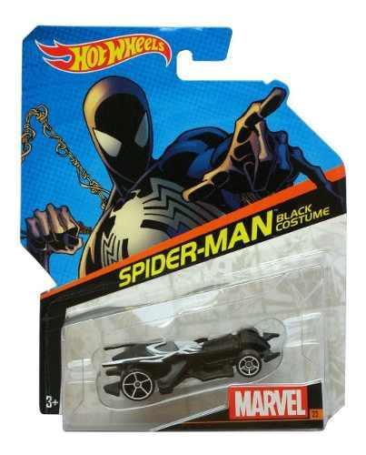 Auto hot wheels marvel spider man carro juguete colección