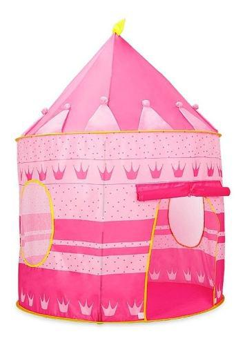Castillo carpa juguete princesas juego niña bebe infantil