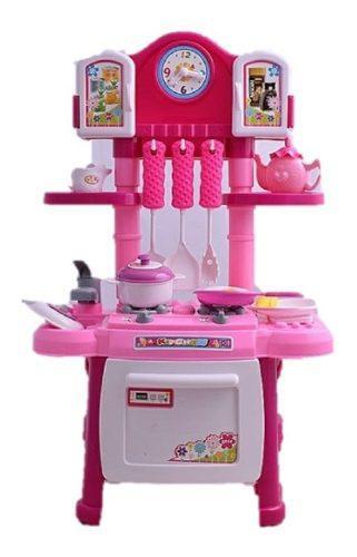 Cocina pequeña infantil niñas luces y sonido despacho hoy