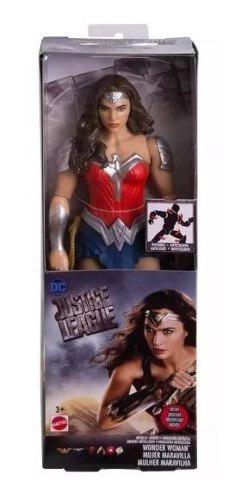 Figuras mattel mujer maravilla básicas 30 cms fwc15 juguete