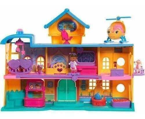 Hospital doctora juguetes juego doc mcstuffins ville
