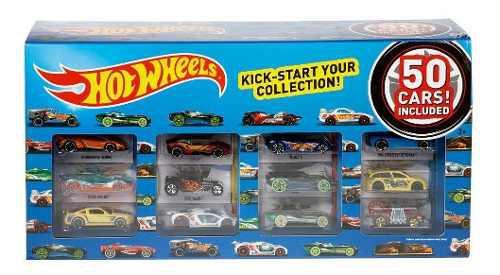 Hot wheels colección 50 autos carros original mattel cgn22