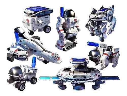Juguete educativo kit solar 7 en 1 robotica espacial