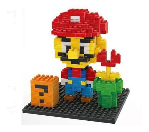 Mario bloques armables tipo lego juguete rf 3321