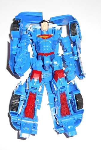 Robot transformers super héroe carro juguete