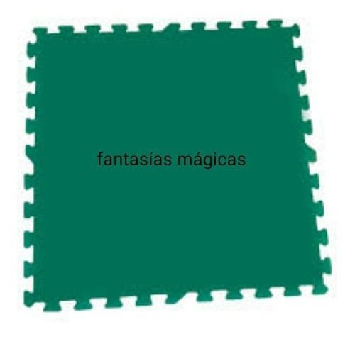 Tapetes didácticos en foami,paquete 4 fichas de 60x60x1 cm