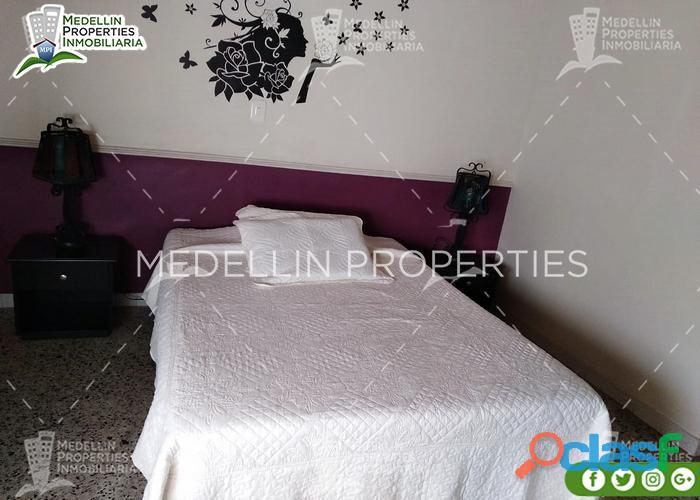 Apartamentos en arriendo amoblados en medellin cód: 4891