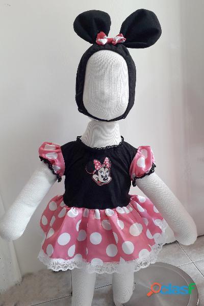 Venta de disfraz de minnie mouse para bebes / niñas nuevos