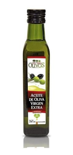 Aceite De Oliva Extra Virgen Los Tes Olivos X 250 Ml