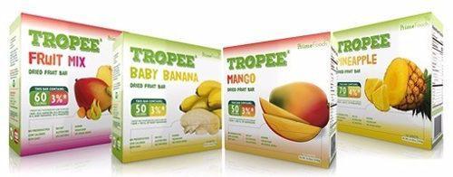 Barras 100% Fruta Deshidratada, Caja X 48 Und