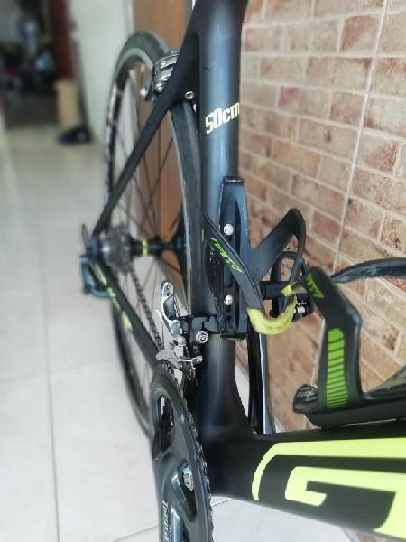 Bicicleta ruta carbono talla s